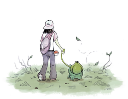 My Bulbasaur and Me by Furrama