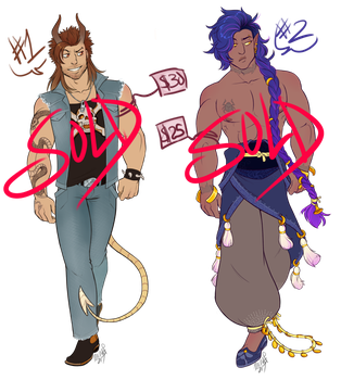Men Adoptables [SOLD OUT] by Machati