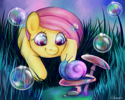 My little Fluttershy by Stasy-MacAlister