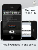 iPhone HD by TheGraphicGeek