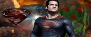 Man Of Steel 2 Promo Banner by PaulRom