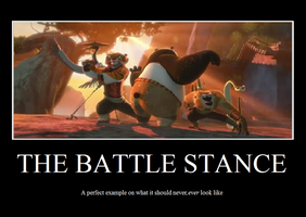 KFP: Battle Stance by Jade-Encrusted-Bugs