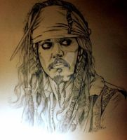 Jack Sparrow by jessburnett