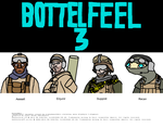 Bottelfeel Chraacturs by CrazyDave55811