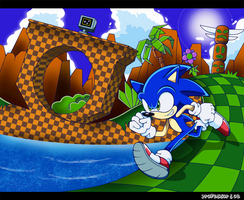 More Green Hill Zone by Professor-J