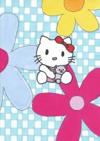 Hello Kitty Drawing by Steffie86