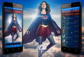 Supergirl Movie Mobile Themes by Maryneim