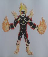 Heatblast Ben 10000 by Kamran10000