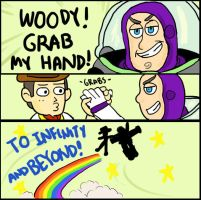 Woody Grab My Hand by yukim4ru