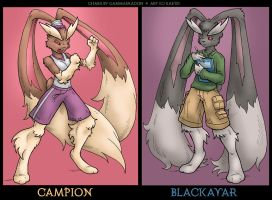 PCA: Campion and Blackavar by WeaverNocturne