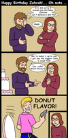 Late Birthday Comic for Miss Z by Ross-Sanger