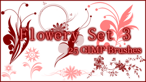 GIMP Flowery Set3 by Illyera