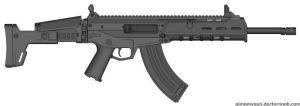 Remmington ACR 7.62x39mm by OmnipotPrime