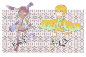 Adoptable K-10 Chibis $5/500 points (OPEN) by Ririkou-Adopts