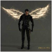 DXHR Adam's wings by shatinn
