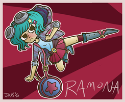..ramona flowers by jez-b