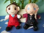 ::Commish:: Apollo and Klavier by prismtwine