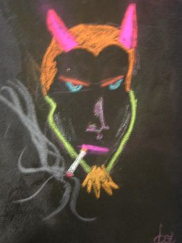 The Devil smokes Camels by forgottenboy
