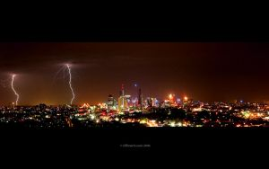 more lightning by MarkGreenmantle