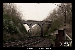 along the railway 7 by Rainbiker