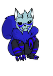 Garrus squirrel by EtheralSnow