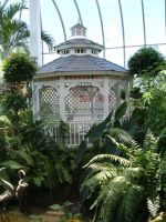 The Gazebo in the Butterfly House by SavageFrog
