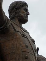 Statue of Philip II of Macedon Methoni Greece by Hellenicfighter