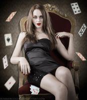 Poker Face. by SummerColor