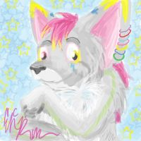 Aaron the Fox Speedpaint by sporkyd00m