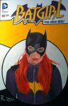 Batgirl Oil Painting by RichardZajac