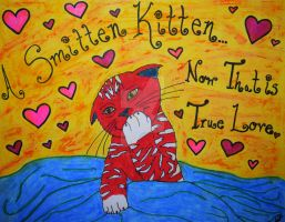 Smitten Kitten by mystery-kitty-cat