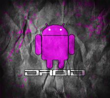 Droid - PINK Android Wallpaper by cderekw