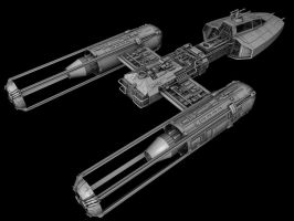 Koensayr Y Wing model by JefferyWright