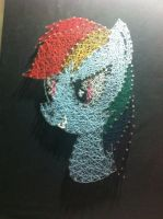 Thread and Nails #Rainbow Dash by Green-Forest48