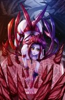 League of Legends Fan Art - Evelynn by WaterRing