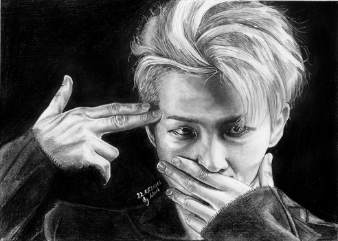 Rap Monster [BTS] by Wiwis1