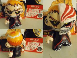 Munny: Hollow Ichigo Bankai by ScarecrowArtist