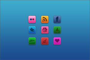 Social iCons by alfredpereiradesigns