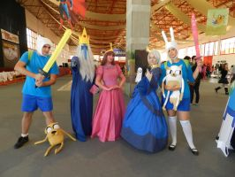 Adventure Time Group! by moonlightspirit