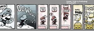 Red Whales Mini-Strip 3 by RedWhaleComics