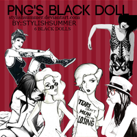 Black Dolls .PNG by StylishSummer