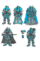 Azarian Infantry WIPs by Shadowclaimer