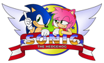 Sonic And Amy Colored by sonictopfan