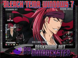 Abarai Renji Theme Windows 7 by Danrockster