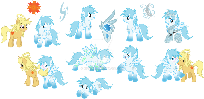 Pony OC: Silver Wind by SifuLeon