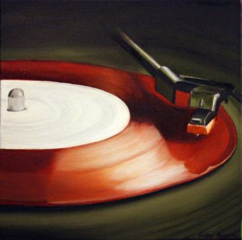 Record Red by Lydia-distracted