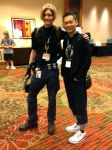 Leon and Mr. Inafune by TylerTouchdown