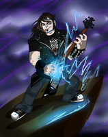 It's A Brutal Legend by AmberRockets