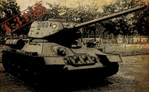 T 34-85 by SuperPeyo