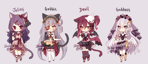 [closed] semi halloween adopts by shouu-kun